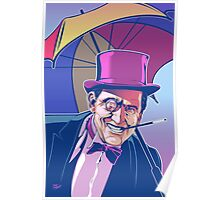 Burgess Meredith Penguin Poster