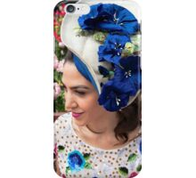 Hats for the Races iPhone Case/Skin