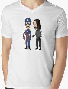 Steven and Buckhead Mens V-Neck T-Shirt