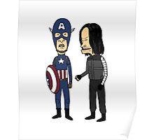 Steven and Buckhead Poster