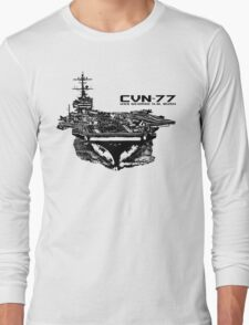 USS George H.W. Bush (CVN-77) Long Sleeve T-Shirt