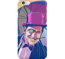 Burgess Meredith Penguin iPhone Case/Skin