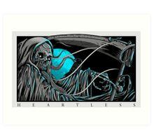 Heartless Reaper Art Print