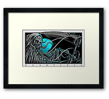 Heartless Reaper Framed Print