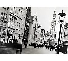 Let's Gdansk Photographic Print