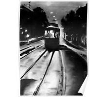 tram by night Poster