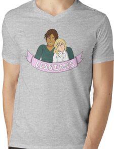 Yumikuri in Lesbians Mens V-Neck T-Shirt