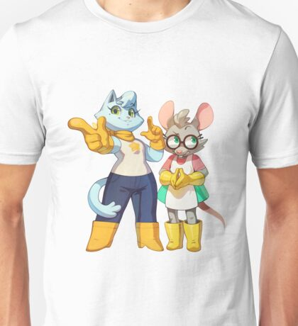 Bubsy Reboot - Oblivia and Virgil Unisex T-Shirt