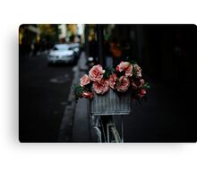 Flower Basket Canvas Print