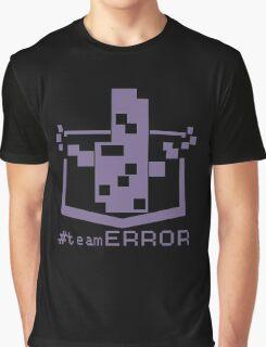 TEAM ERROR Graphic T-Shirt