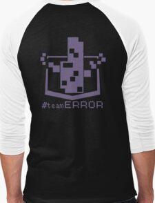 TEAM ERROR Men's Baseball ¾ T-Shirt