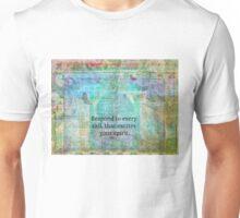 Inspirational Spirit Quote by Rumi  Unisex T-Shirt