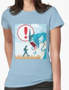 Pokemon Go Loading Page Womens Fitted T-Shirt