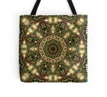 Peacock Batik Mandala Tote Bag