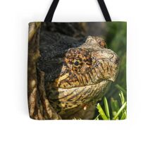 Big Snapping Turtle Tote Bag