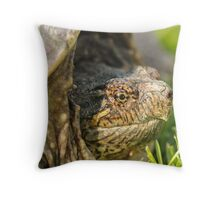 Big Snapping Turtle 2 Throw Pillow