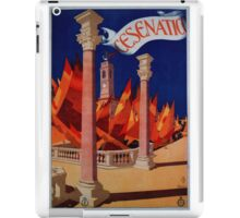 Vintage Cesenatico  Italy Travel iPad Case/Skin