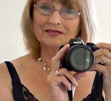Selfie in the mirror  by lynn carter
