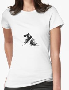 High Tops Womens Fitted T-Shirt
