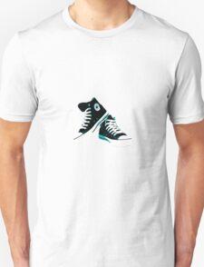 Black Converse  Unisex T-Shirt