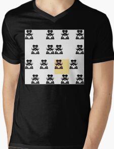 Mo Dog Mens V-Neck T-Shirt