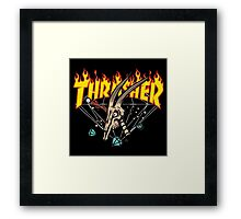 Thrasher Diamond Framed Print