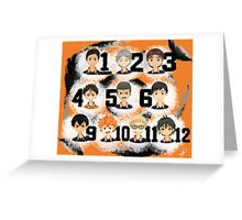 Karasuno Team  - Haikyuu!! Greeting Card