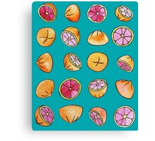 Love of Grapefruit Canvas Print
