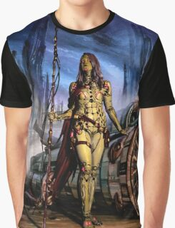 Cyberpunk Painting 077 Graphic T-Shirt