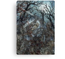 Out In The Dark - The Witcher Canvas Print