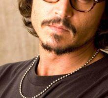 Johnny Depp Sticker