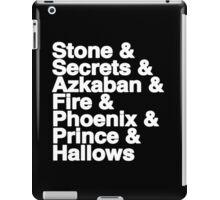 Harry Potter Books iPad Case/Skin
