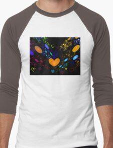 Beating Hearts Men's Baseball ¾ T-Shirt