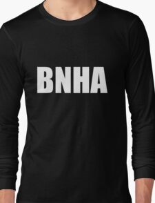 BNHA (White Text) Long Sleeve T-Shirt
