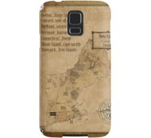 map of new england as westeros Samsung Galaxy Case/Skin