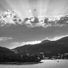 Dubrovnik Beams BW II by Matti Ollikainen