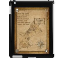 map of new england as westeros iPad Case/Skin