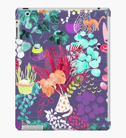 Indoor Plants Cat Garden iPad Case/Skin