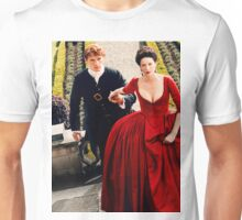 Jamie and Claire Outlander Unisex T-Shirt