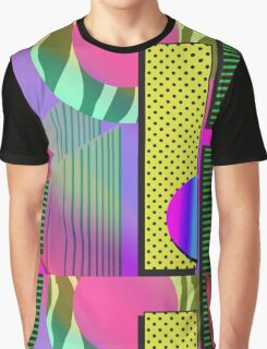 Just Can't Get Enough Eighties Retro Patterns Graphic T-Shirt