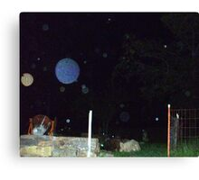 More Orbs -- Orb Reporting Photo Canvas Print
