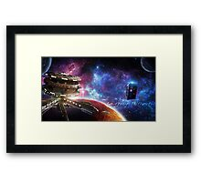 Something Awesome? Framed Print
