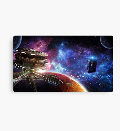 Something Awesome? Canvas Print