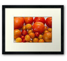 Little tomatoes Framed Print