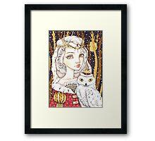 Winter Bride Framed Print