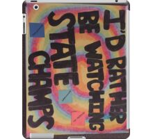 State champs iPad Case/Skin