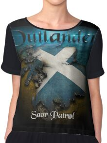 Outlander Maps Chiffon Top