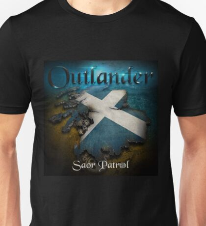 Outlander Maps Unisex T-Shirt