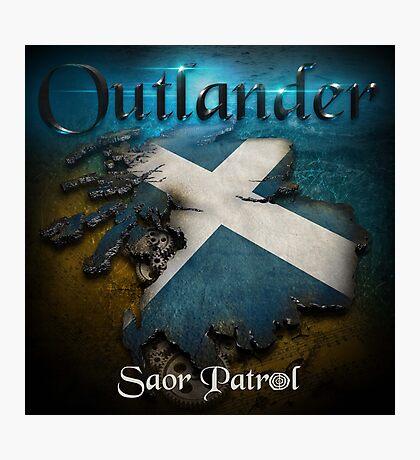 Outlander Maps Photographic Print