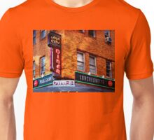 Vintage Urban Diner Lost City Baltimore Maryland Unisex T-Shirt